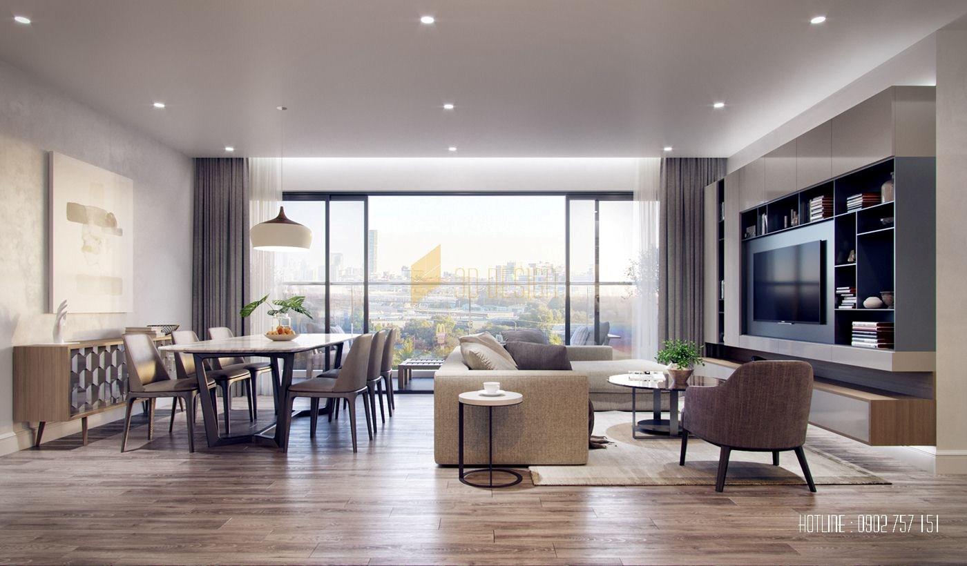 Thiết kế căn hộ Saigon Gateway